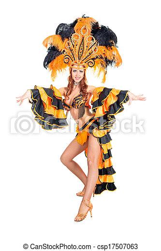 Bailarina de carnaval - csp17507063