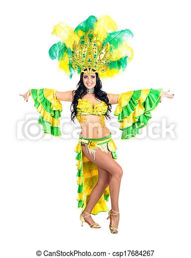Bailarina de carnaval - csp17684267