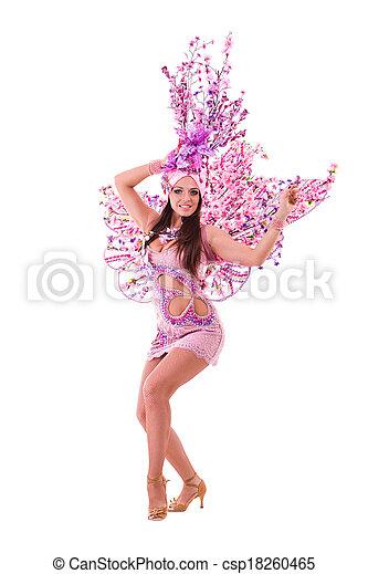 Bailarina de carnaval - csp18260465