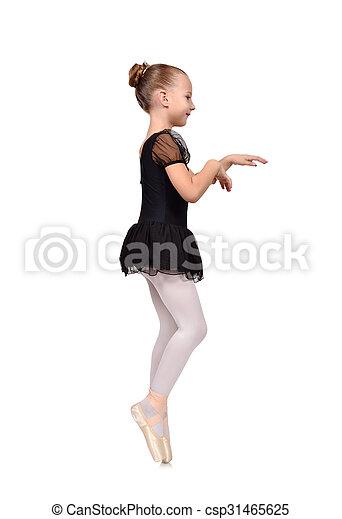 Bailarina de bailarinas - csp31465625