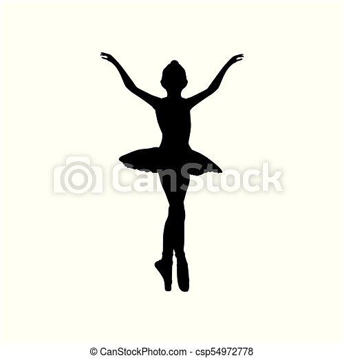 Baile Bailarina Nina Silueta Ballet Bailarina Silueta Ballet