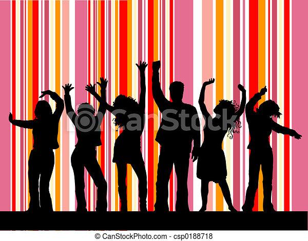 baile club - csp0188718