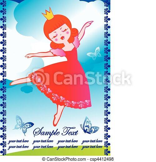 Bailando. - csp4412498