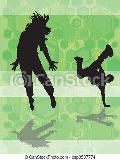 Danza hex verde - csp0537774
