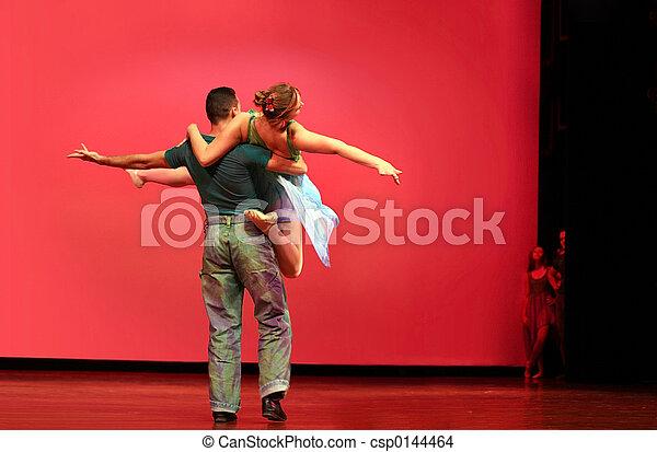 Baile moderno - csp0144464
