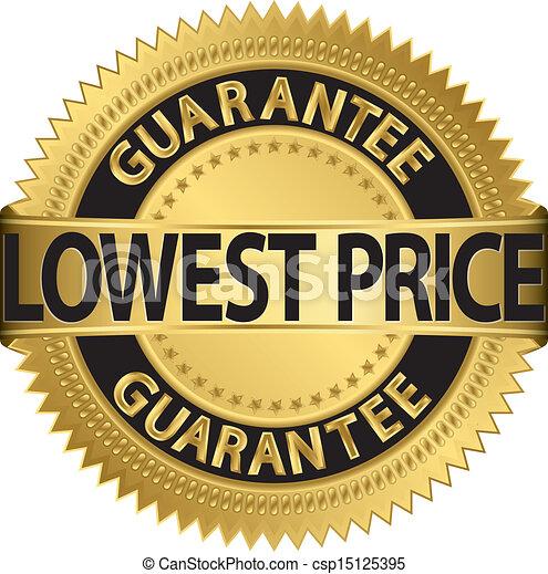 baixo, etiqueta, garantia, dourado, preço - csp15125395