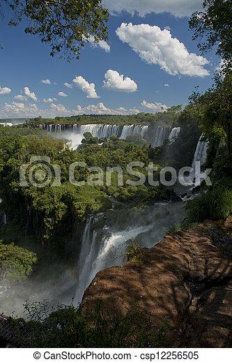 El lado argentino del iguazu cae - csp12256505