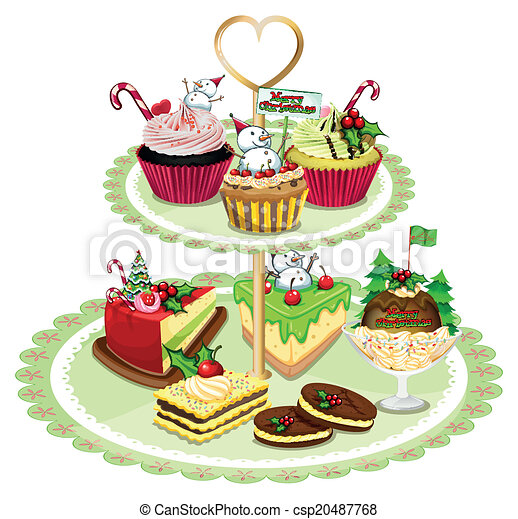 illustration of the baked goods arranged in the tray on a clip rh canstockphoto com baked goods clip art colored outline baked goods clipart free