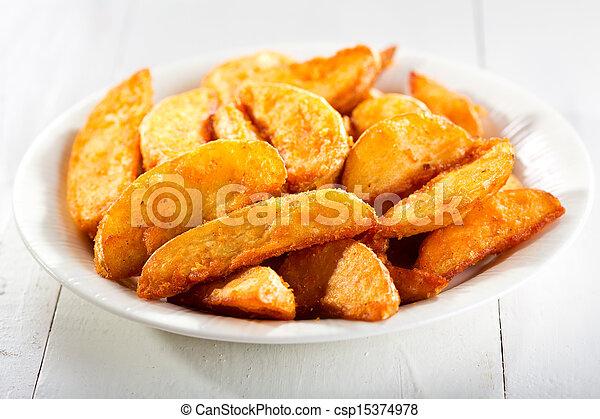baked potato - csp15374978