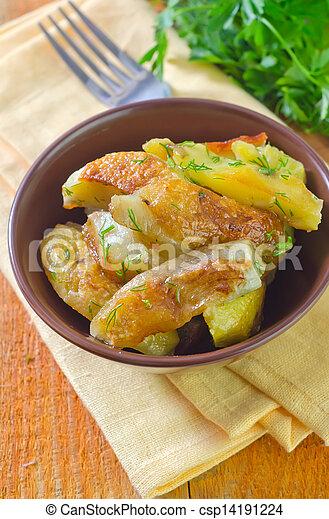 baked potato - csp14191224