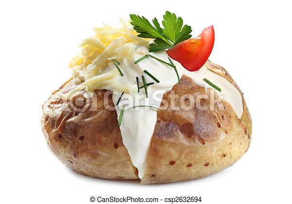 Baked Potato - csp2632694