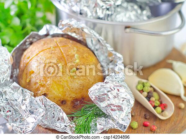 baked potato - csp14204896