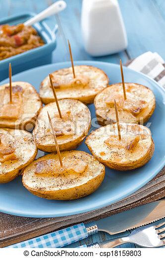 Baked potato - csp18159803
