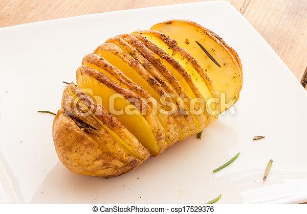 Baked potatoes - csp17529376