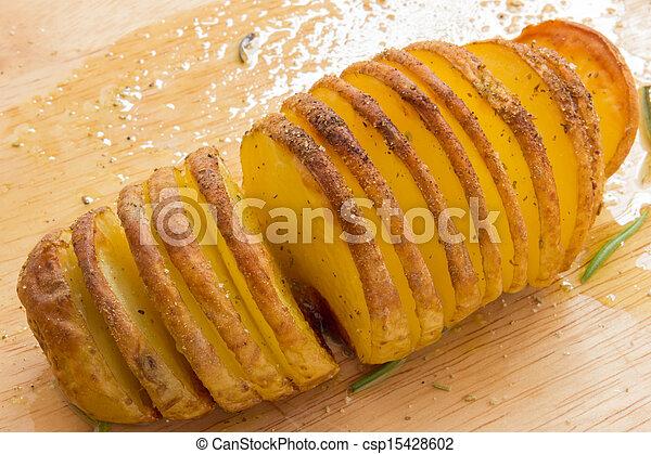Baked potatoes - csp15428602
