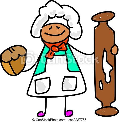 baker kid - csp0337755