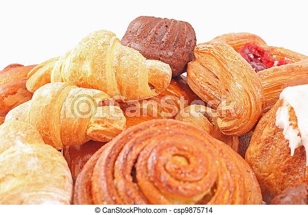 Bakery foodstuffs assortment  - csp9875714