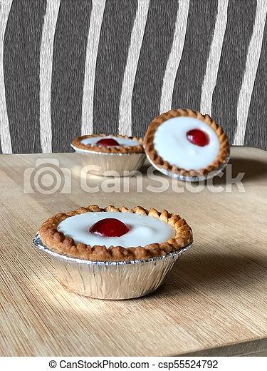 bakewell tarts - csp55524792