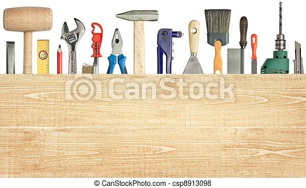 bakgrund, carpentry - csp8913098