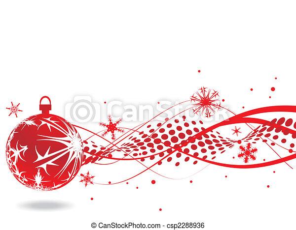 bakgrund, jul - csp2288936