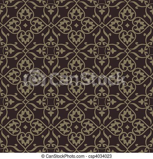 bakgrund, mycket, mönster, pattern., seamless, edit., vektor, lätt, included, repeterande, swatch. - csp4034023
