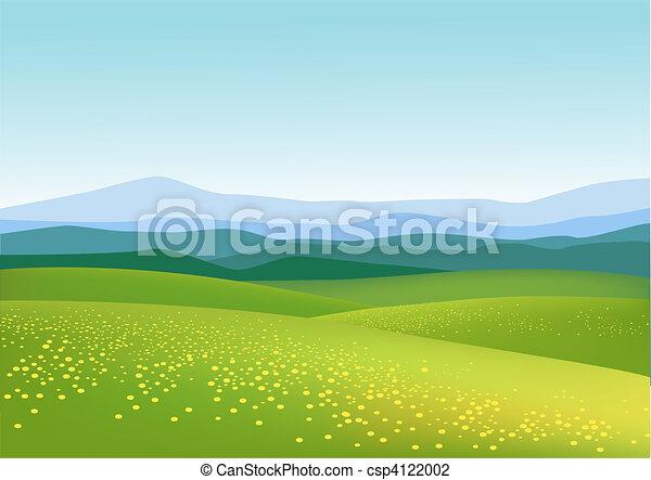 bakgrund, natur - csp4122002