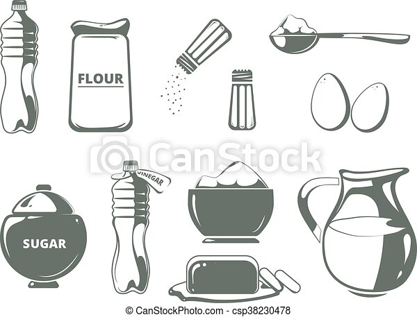 Cooking Materials Clipart