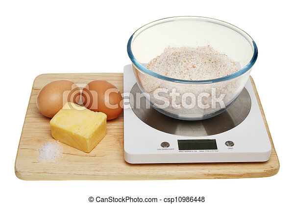 Baking ingredients - csp10986448