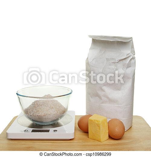 Baking ingredients - csp10986299