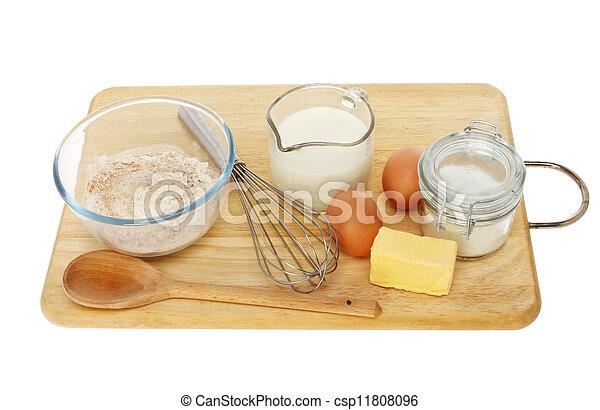 Baking ingredients - csp11808096