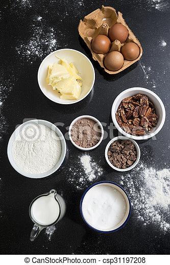 Baking ingredients - csp31197208
