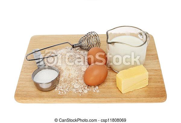 Baking mix - csp11808069