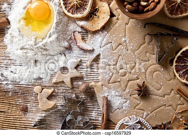 Baking utensils - csp16597929
