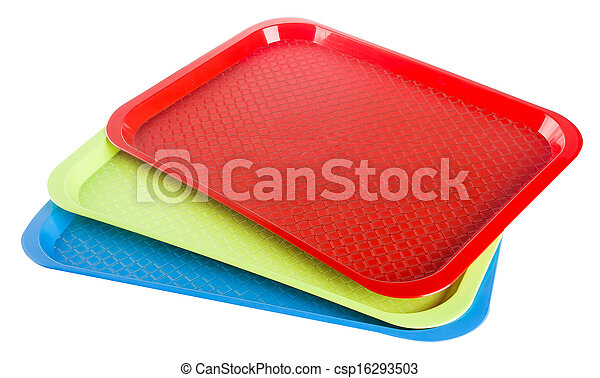 bakken, tom, baggrund, plastik - csp16293503