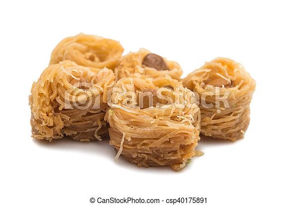 baklava with walnuts - csp40175891