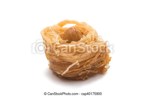 baklava with walnuts - csp40175900