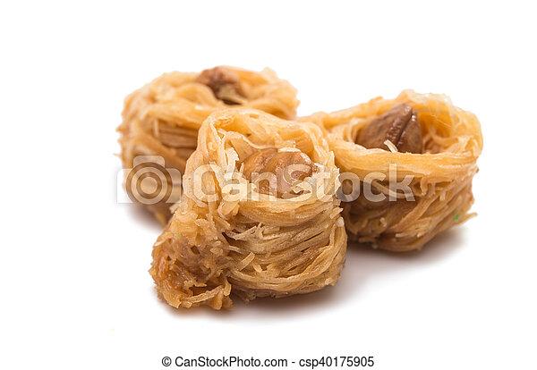 baklava with walnuts - csp40175905