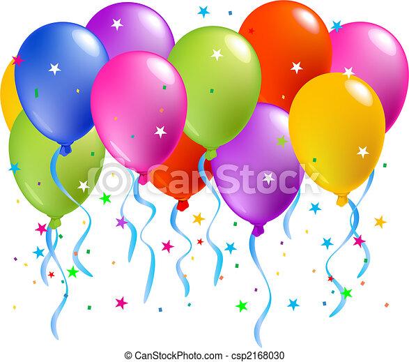 balões, coloridos - csp2168030