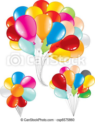 balões, grupo - csp6575860