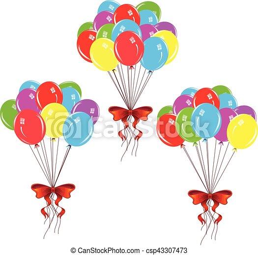 balões, grupo - csp43307473