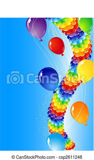balões - csp2611248