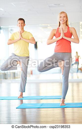 Balance and harmony - csp23198353