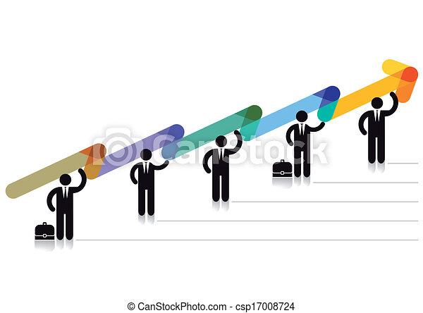 Balance chart positive - csp17008724