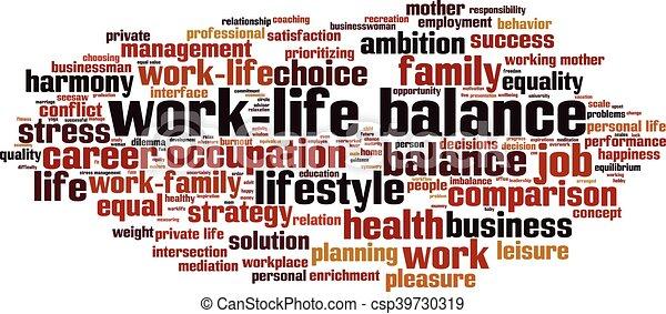 balance-horizon.eps, work-life - csp39730319