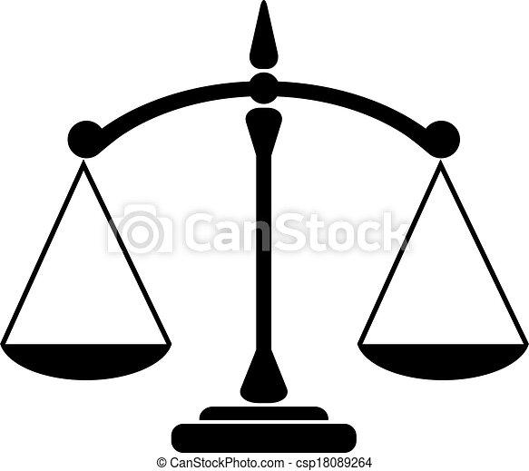 El icono del equilibrio - csp18089264