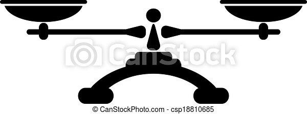 El icono del equilibrio - csp18810685