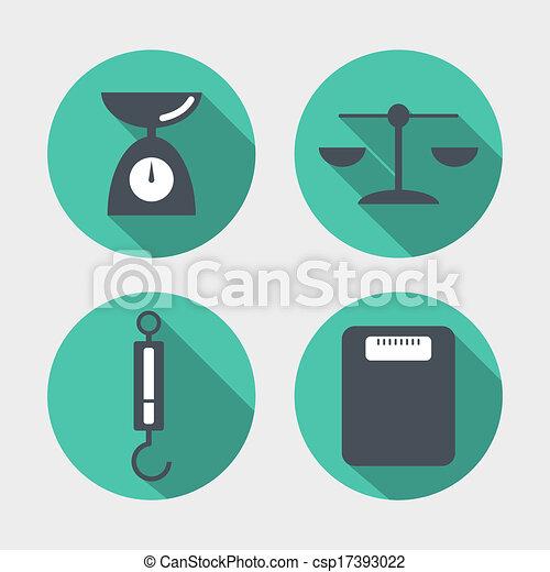 Balance icons - csp17393022