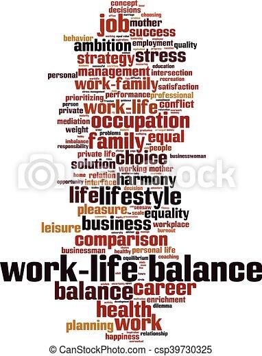 balance-vertical.eps, work-life - csp39730325