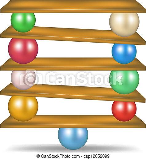 Balanced balls - csp12052099