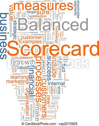 Balanced scorecard - csp2015925